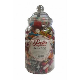 Retro sweets jar (Pells) 1.6kg
