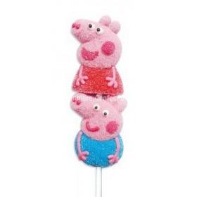 Peppa Pig Marshmallow Pops (Bazooka) 16 Count