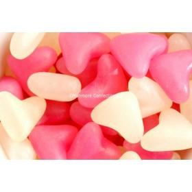 PINK & WHITE LOVE HEARTS (BARRATT) 3KG
