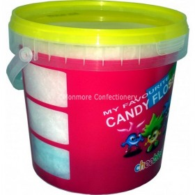 CHEEBIES CANDY FLOSS 50G TUB (ROSE) 6 COUNT
