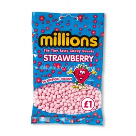 STRAWBERRY FLAVOUR BAGS (MILLIONS) 12 COUNT