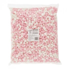MINI PINK & WHITE MALLOWS (SWEETZONE) 1KG
