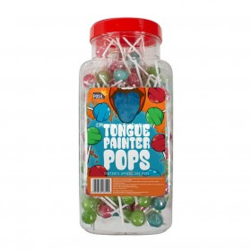 Posh Tongue Painter Pops Jar (Posh) 200 Count