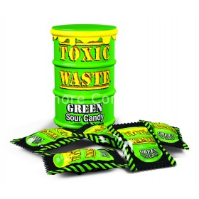 TOXIC WASTE GREEN DRUM 42G (TOXIC) 12 COUNT