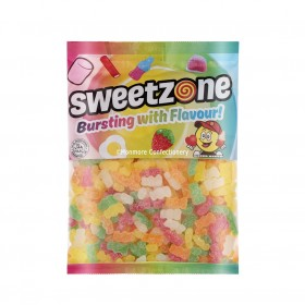 Vegan Fizzy Bears (Sweetzone) 1kg Bag