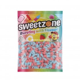 Vegan Fizzy Bubblegum Bottles 1kg Bag