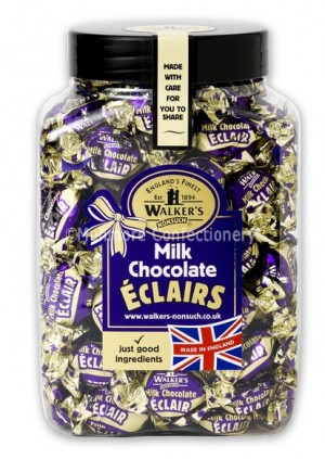 Milk Chocolate Eclairs (Walkers Nonsuch) 1.25kg