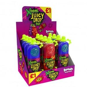 Juicy Drop Pop Xtreme 26g (Bazooka) 12 Count