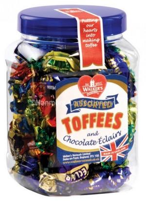 walkers toffee small gift jar