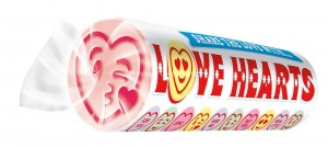 GIANT LOVE HEARTS (SWIZZELS MATLOW) 24 COUNT