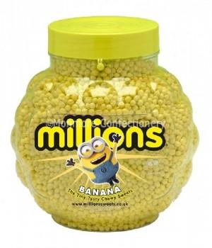 BANANA FLAVOUR (MILLIONS) 2.27KG FULL JAR