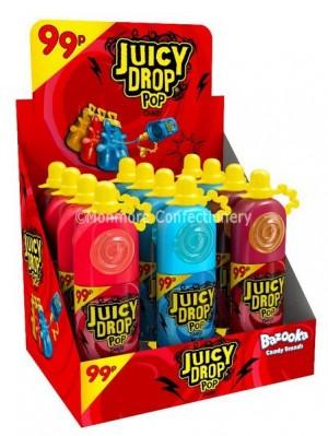 Juicy Drop Pops (Bazooka) 12 Count