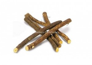 dried liquorice root that look like sticks of wood, supplied in a 1kg poly bag, made in turkey, h&h confectionery