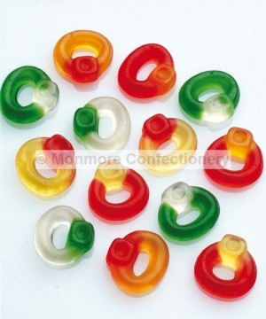 FRIENDSHIP RINGS (HARIBO) 3KG