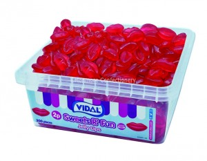 Jelly Lips Tub (Vidal) 300 Count