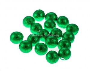Milk Chocolate Green Balls (Kinnerton) 3kg