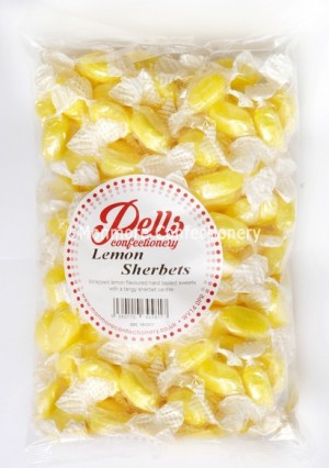 Pells Lemon Sherbet 1kg Bag
