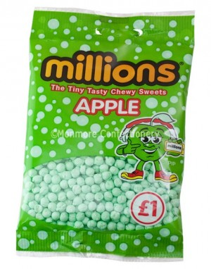 APPLE FLAVOUR BAGS (MILLIONS) 12 COUNT