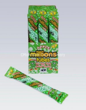 Apple Flavour Tubes (Millions) 12 Count