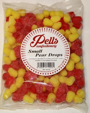 PELLS SMALL PEAR DROPS 1KG