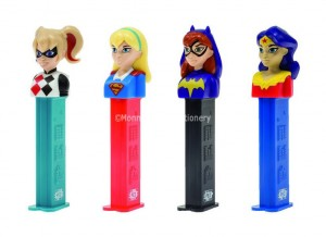 PEZ DC COMICS GIRLS (PEZ CANDY) 12 COUNT