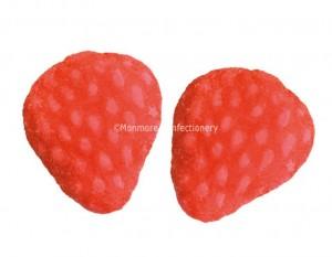 Fizzy Red Foam Strawberries (Vidal) 3kg