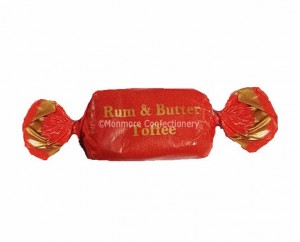 rum and butter toffee
