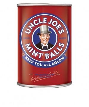 uncle joes mint balls tin 120g