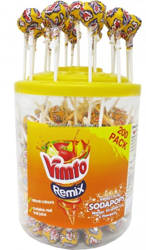 VIMTO REMIX SODA LOLLY 200x10p
