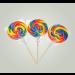 Kandy Kandy Swirly Round Lollies