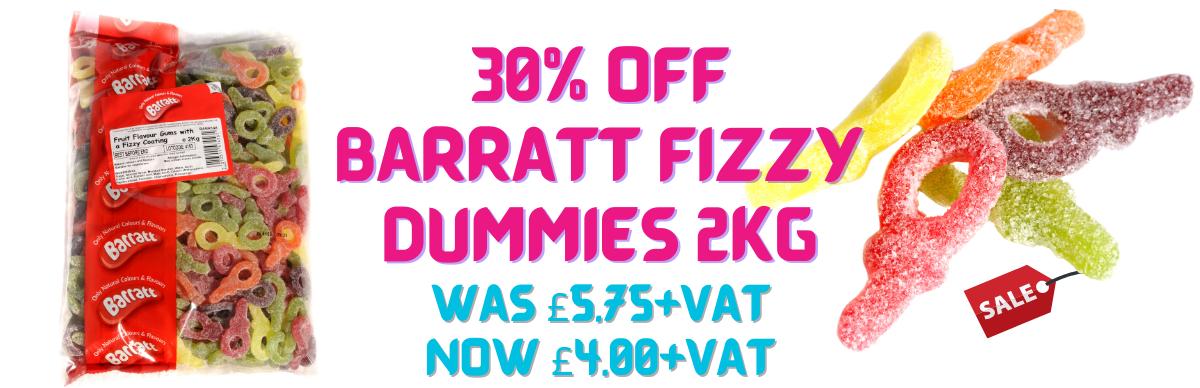 Barratt Fizzy Dummies Sale