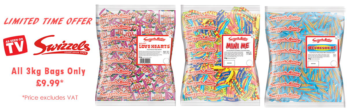 Swizzels 3kg Bag Promotion by Monmore Confectionery