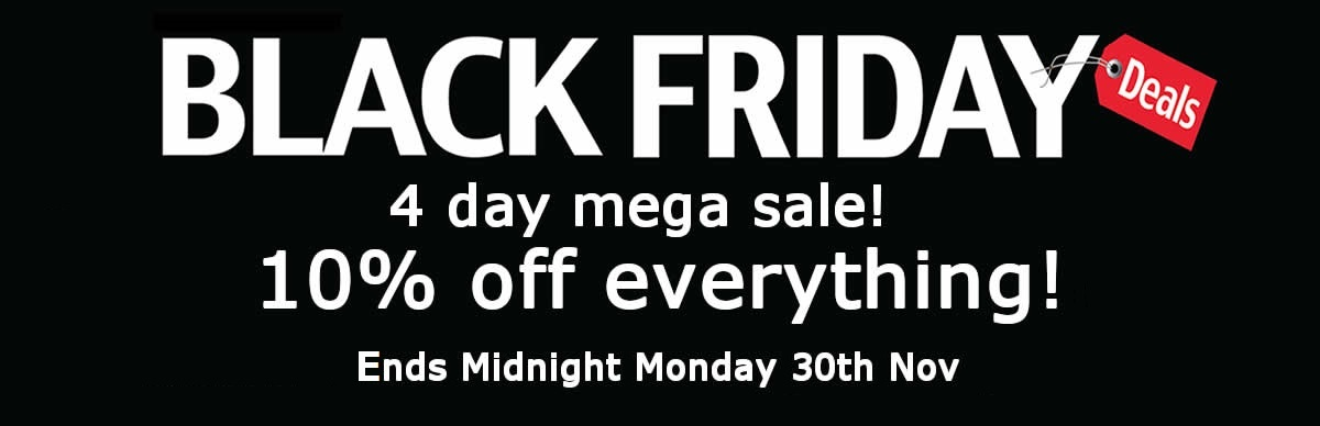 black friday weekend sweets 10% off monmore confectionery