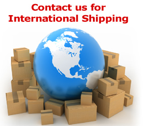 Contact us for international shipping