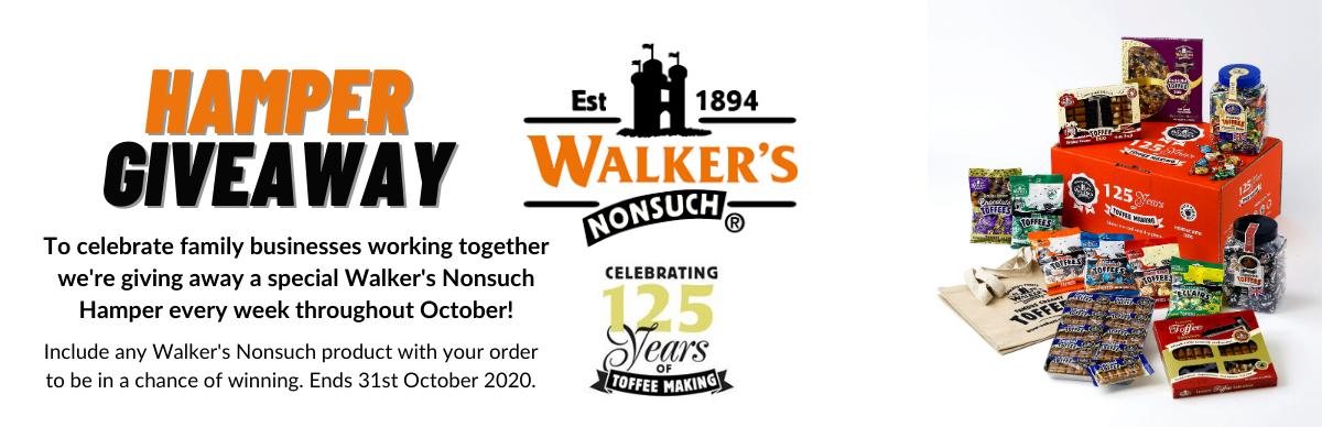Walkers Giveaway Banner